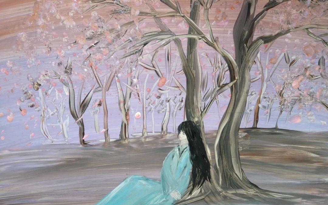Clip Vẽ Tranh Màu | Họa Sĩ Vẽ Tranh Cát Quỳnh Hoa