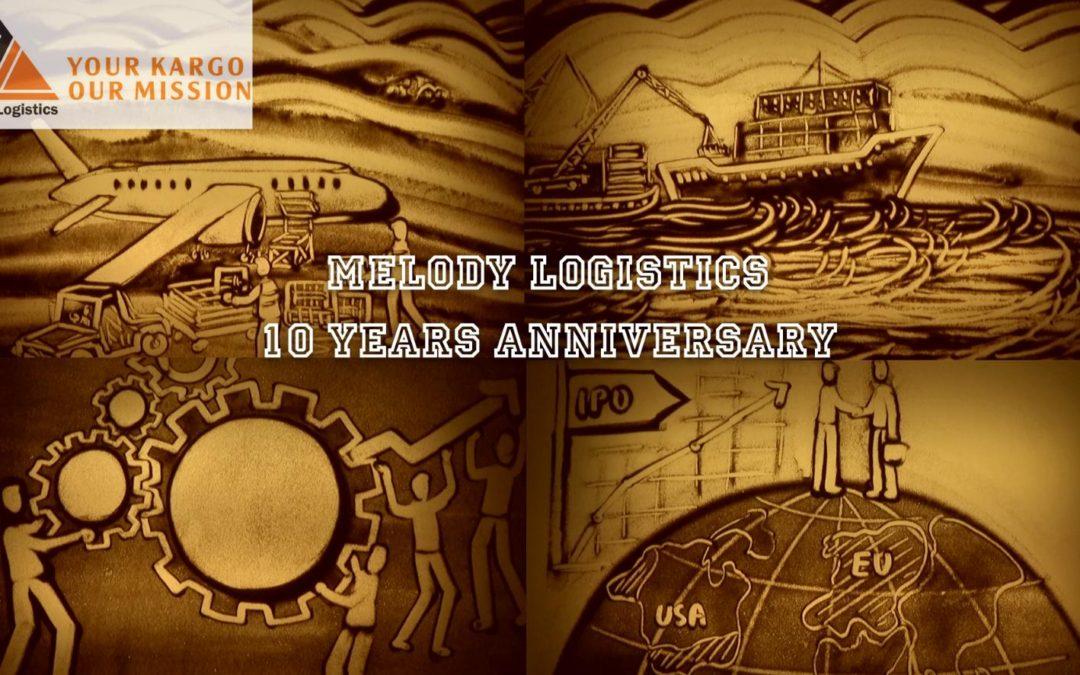 Melody Logistics – Hành Trình 10 Năm Hình Thành Và Phát Triển | Vẽ Tranh Cát Quỳnh Hoa