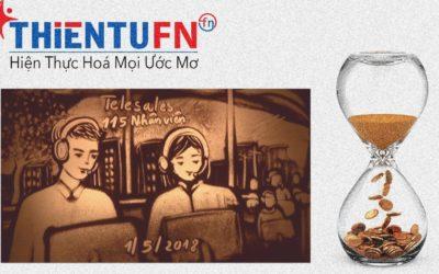 Vẽ Tranh Cát Công Ty Tài Chính Thiên Tú FN
