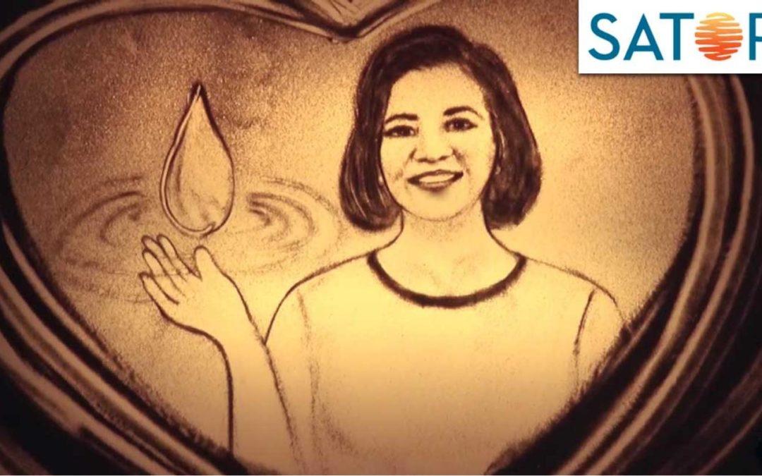 Satori – Trọn Từng Giọt Yêu Thương – Tranh Cát Quỳnh Hoa