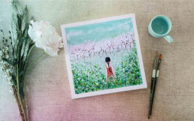 Quỳnh Hoa Hướng Dẫn Vẽ Tranh Bằng Màu Acrylic